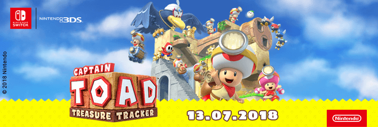 SK Captain Toad: Treasure Tracker