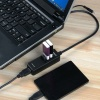 ORICO H4019-U3-BK OTG 4 port USB3.0 hub