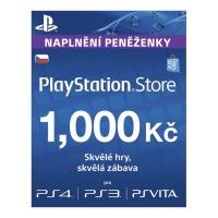 PlayStation Live Cards 1000Kč Hang CZ