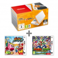 New N2DS XL White&Orange + KBR + M&L:Supersaga
