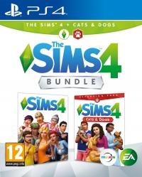 PS4 The Sims 4 - Bundle Základní hra + Psi a Kočky