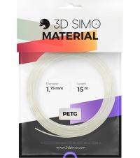 3DSimo Filament PETG/PLA - bílá 15m
