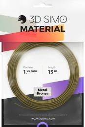 3DSimo Filament METAL - zlatá 15m