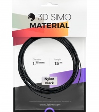 3DSimo Filament NYLON - čierna 15m