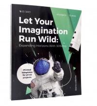 3DSimo Book (anglicky) + brožura se šablonami