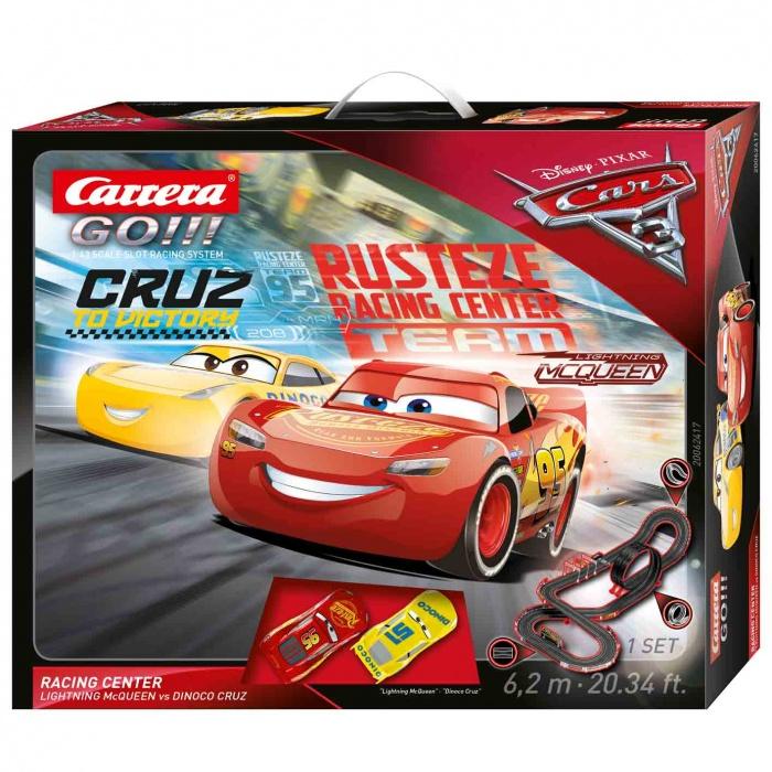 Autodráha Carrera GO 62417 Cars 3 Racing Center