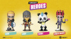 UBI Heroes - JD Panda - Chibi Figurine