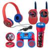 Set Spiderman - vysílačky,sluchátka,baterka,kompas