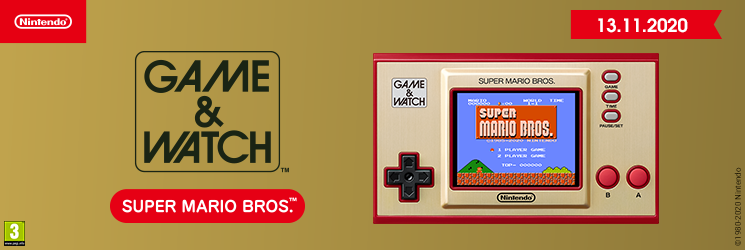 SK Game & Watch: Super Mario Bros. edition