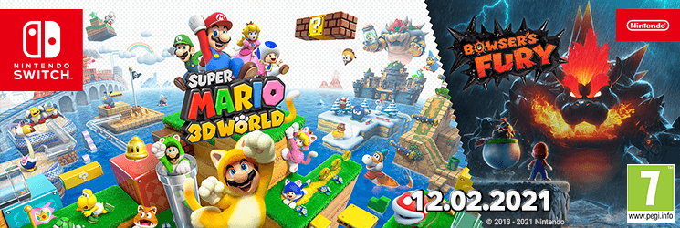 SK Super Mario 3D World + Bowser