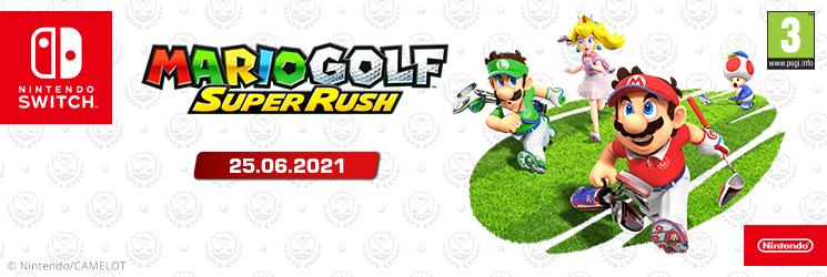 SK Mario Golf: Super Rush